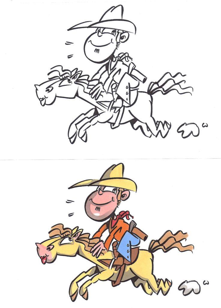 legal figuren cowboy jim und la belle