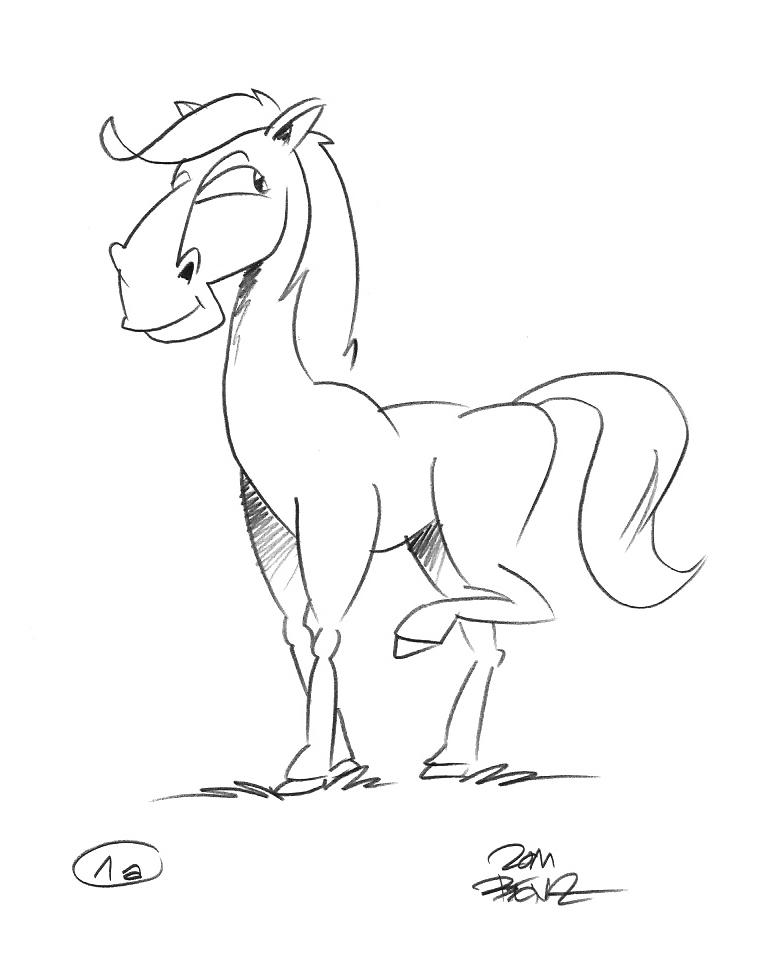 pferd-entwurf 1a